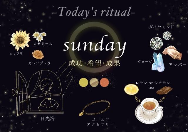 日曜日に行う魔術